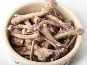 Cooked Chicken Bones